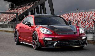Genewa 2017: Porsche Panamera Mansory (2017) - premiera