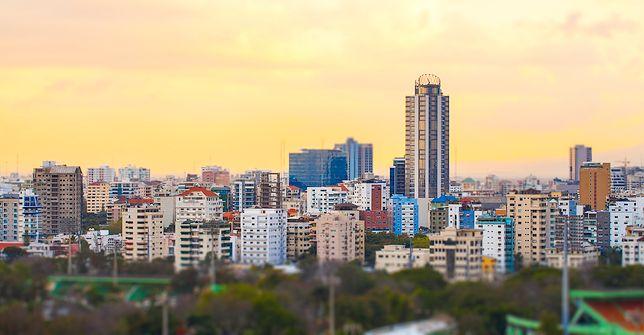 Panorama miasto Santo Domingo