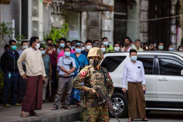 Pucz w Birmie rozpoczął się 1 lutego