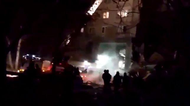 Rosja. Wybuch gazu w bloku. Zawaliła się klatka schodowa, są ofiary