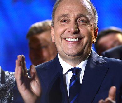 Grzegorz Schetyna mimo porażki zachował optymizm