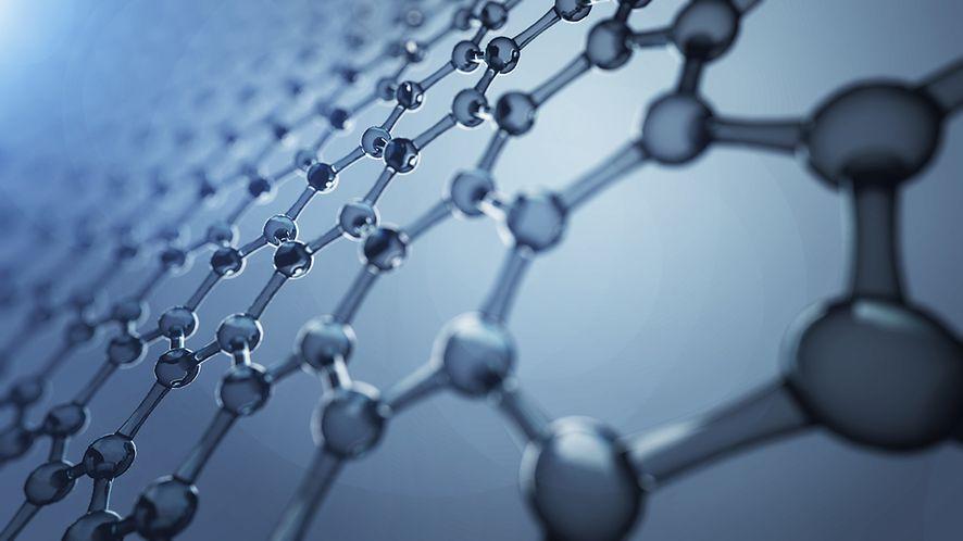 Struktura grafenu, fot. Shutterstock.com