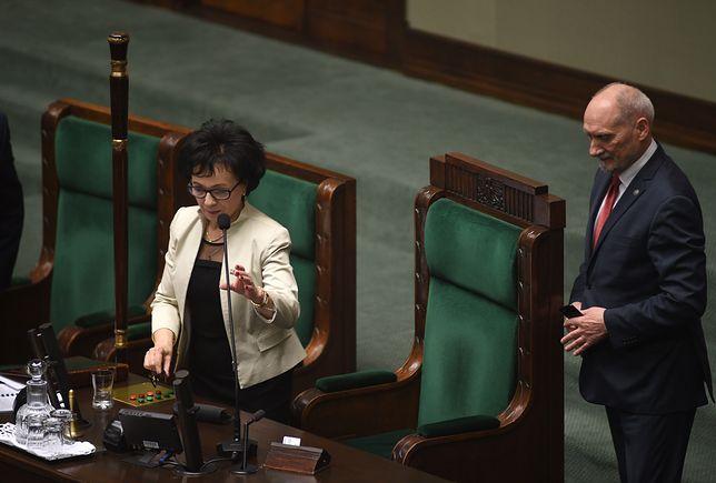Pierwsze posiedzenie Sejmu. Wybrano wicemarszałków
