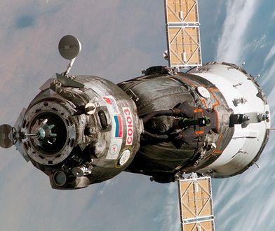 Udane dokowanie statku Sojuz