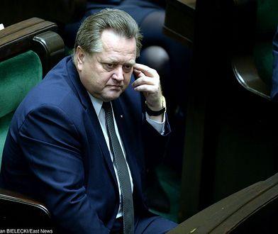Wiceszef MSWiA Jarosław Zieliński.