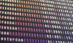 Kłopoty samolotu, lecącego z Algierii do Francji