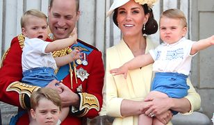 Do tej pory książę Louis był widziany tylko kilka razy