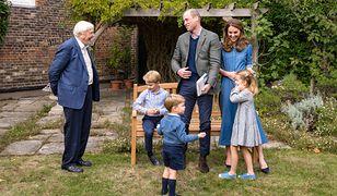 David Attenborough spotkał się z młodymi członkami rodziny królewskiej