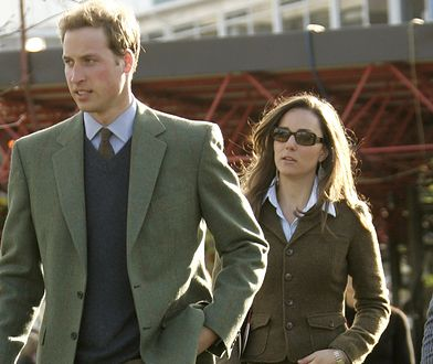 William i Kate w marcu 2007 r.
