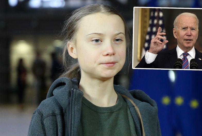 """""""Lol"""". Greta Thunberg komentuje plany Bidena"""