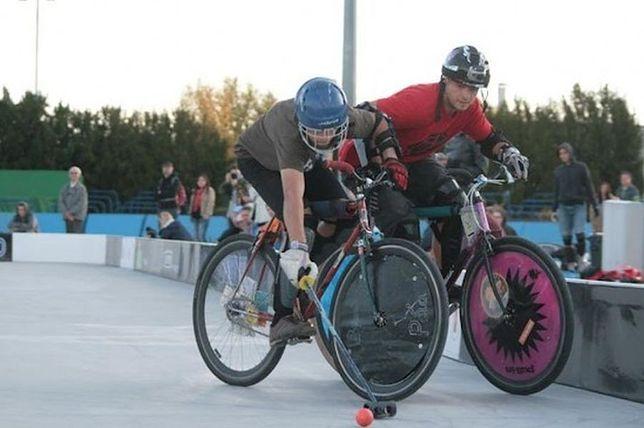 Bike polo na Zimowym Narodowym