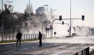 Warszawa. Do awarii sieci ciepłowniczej doszło w środę na Sadybie