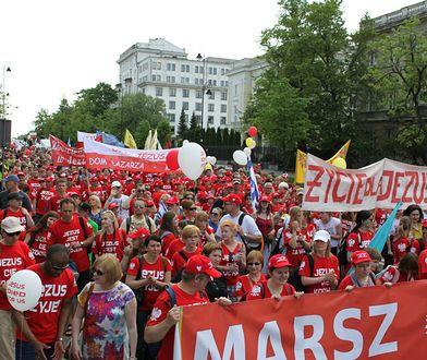 Marsz dla Jezusa przejdzie ulicami Warszawy