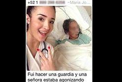 Skandal w szpitalu. Selfie z pacjentką w agonii