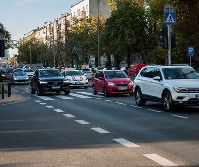 Warszawa. Ruch drogowy wraca do stanu sprzed epidemii