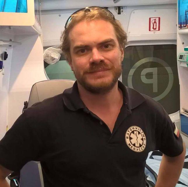 Wojciech Skotnicki, ratownik medyczny ze Szczecina