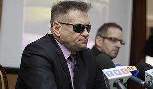 Krzysztof Rutkowski podczas konferencji prasowej