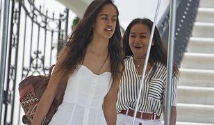 """Malia i Sasha Obama w dokumencie """"Becoming"""". Są dumne z matki"""