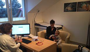 Nasza redaktorka Malina poszła zaszczepić syna przeciw odrze