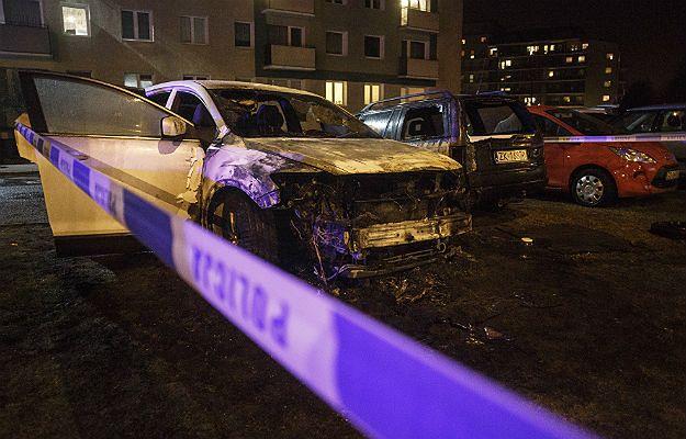 Kolejne auta spłonęły w Trójmieście. Policja poszukuje podpalacza