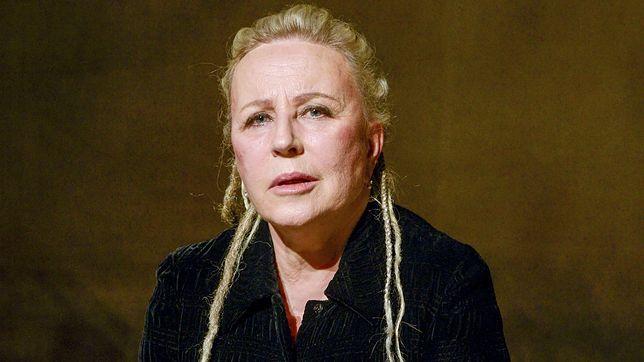 Krystyna Janda jest rozgoryczona postawą rządu ws. teatrów