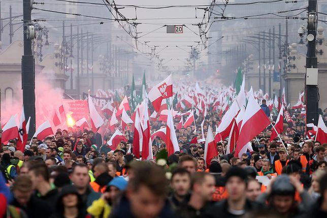 Marsz Niepodległości w stolicy