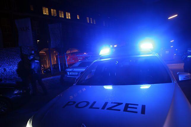 Przyczynę pożaru ustala niemiecka policja.