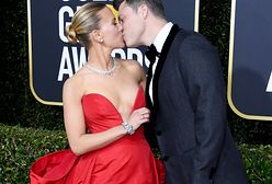 Rozpromieniona Scarlett Johansson na gali Złotych Globów. Nie szczędziła ukochanemu czułości