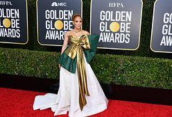 Jennifer Lopez niczym prezent na gali Złotych Globów
