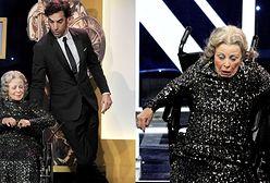 Sacha Baron Cohen zrzucił staruszkę ze sceny! FOTO