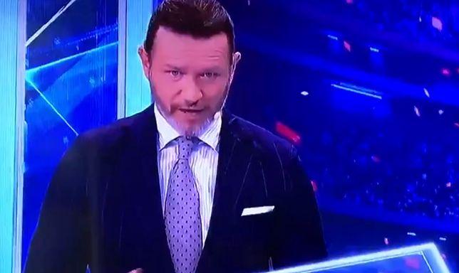 Jarosław Majdan zaliczył wpadkę w wejściu na żywo