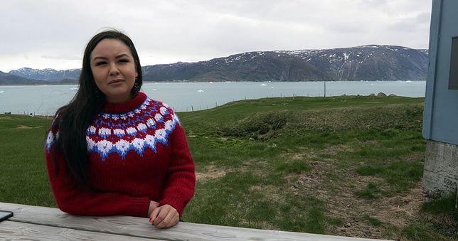 "Maatali Okalik, bohaterka filmu ""Na ratunek Arktyce"""