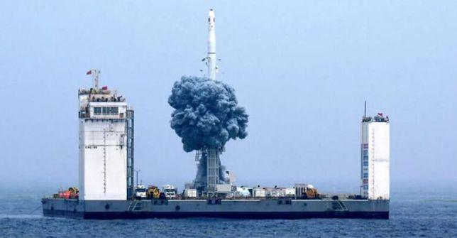 Chiny budują pływający port kosmiczny