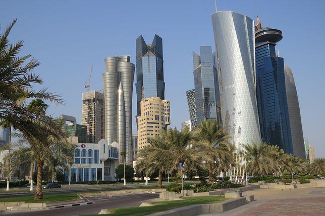 Imponujące wieżowce są wizytówką Dohy