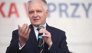 Jarosław Gowin wytłumaczył słowa europosła Ryszarda Legutki