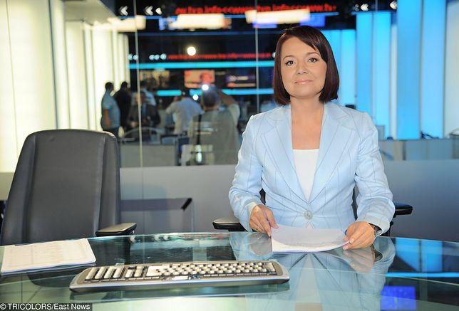 Danuta Holecka pracuje w Telewizji Polskiej od 1993 roku