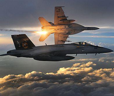 F-18 działający w ramach natowskiej Baltic Air Policing został przepędzony przez rosyjskie myśliwce nad Bałtykiem - podaje TASS