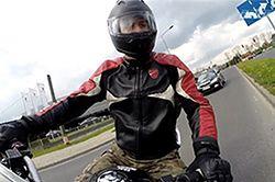 Wiosna na motocyklu. Lepiej uważaj