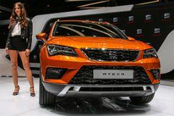 Pierwszy SUV Hiszpanów - Seat Ateca debiutuje w Genewie