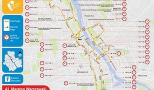 Warszawa. 43. Maraton Warszawski