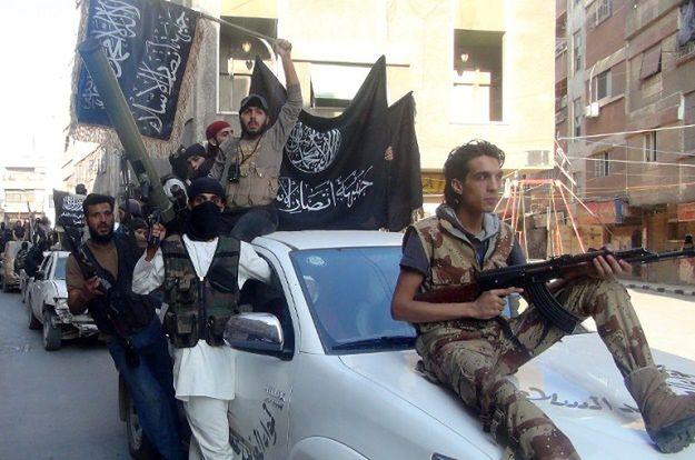 Bojownicy syryjskiej Al-Kaidy