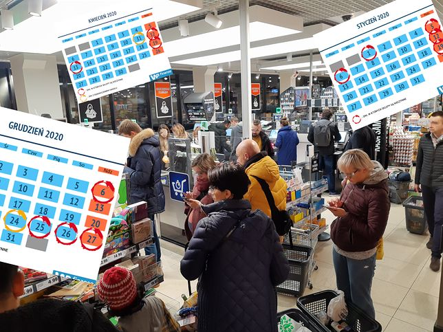 Ile czeka nas przymusowych dni bez zakupów w kolejnych latach? Dużo