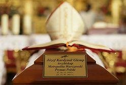 Msza przy trumnie prymasa Józefa Glempa