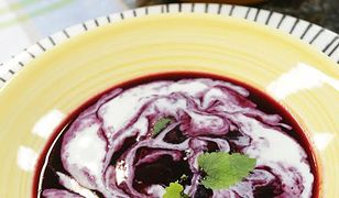 Zupa borówkowa według Ewy Wachowicz