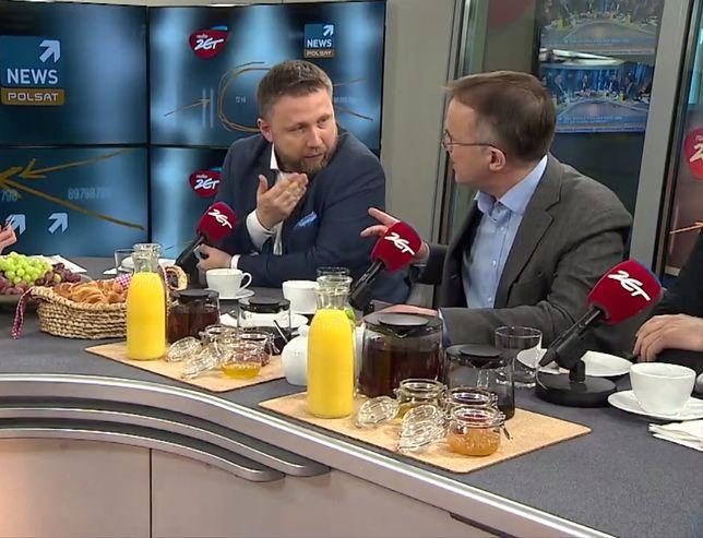 Jarosław Sellin i Marcin Kierwiński w Radiu ZET
