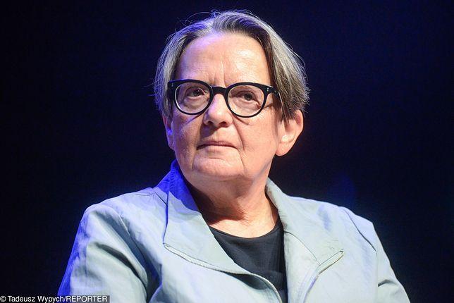 """Agnieszka Holland zapewniła, że jej pomysł jest """"na serio"""""""
