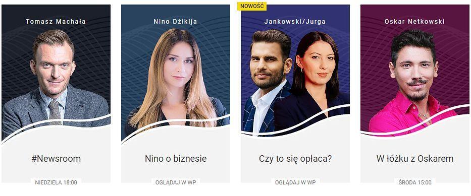 Jesienna ramówka Wirtualnej Polski. Kulisy polskiej polityki, technologia, show-biznes i gotowanie