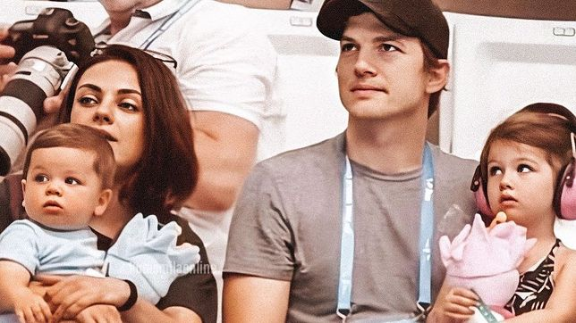 Kutcher i Kunis mają dwójkę dzieci