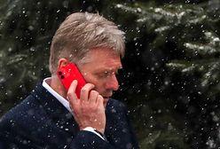 Rosja ostrzega Unię Europejską ws. sankcji. Rzecznik Kremla prostuje stanowisko
