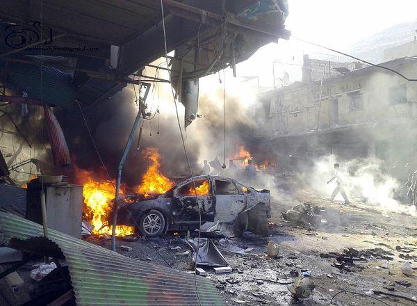 Syria: zamach w prowincji Idlib, co najmniej 20 ofiar